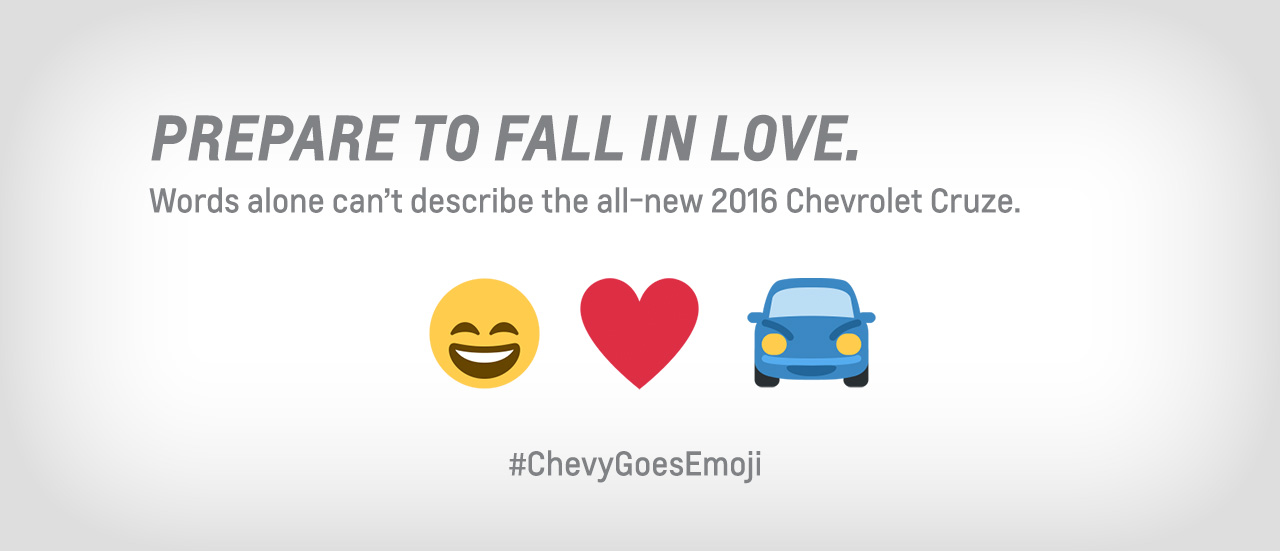 Chevy Emoji Marketing